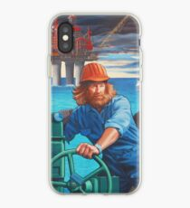Maelstrom Mural - Construction Worker iPhone Case