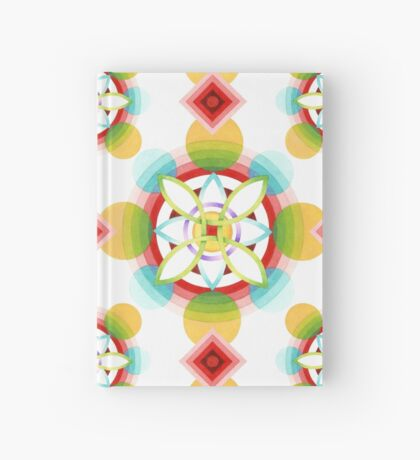 Geometric Blossoms Hardcover Journal