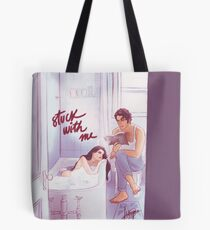 Stuck With Me Tote Bag