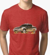 Subaru Baja Ute Pickup Tri-blend T-Shirt