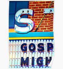 Gospel at the Strand Poster