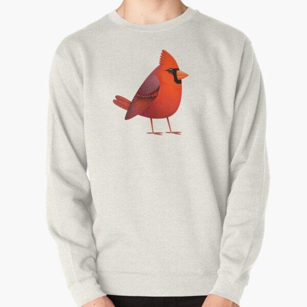 Masked Cardinalis Pullover Sweatshirt