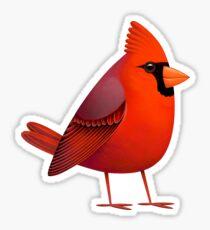 Masked Cardinalis Sticker