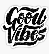 Good Vibes - Feel Good T-Shirt Design Sticker