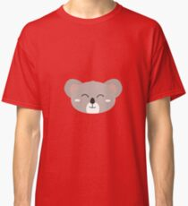 Happy Koala head Classic T-Shirt