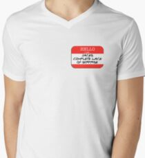 Fight Club - I am Jack's complete lack of surprise Mens V-Neck T-Shirt