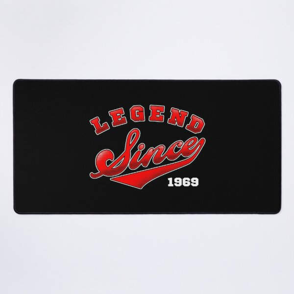 Legend Since 1969 Desk Mat