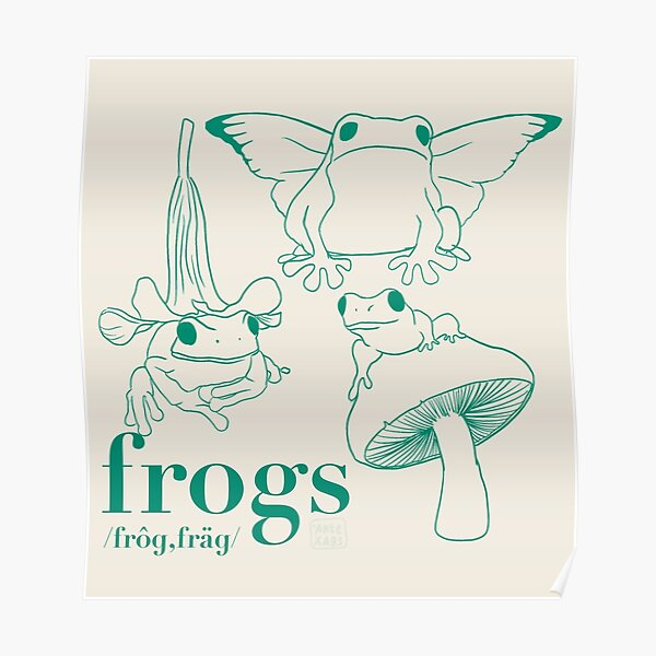 Frogs Poster