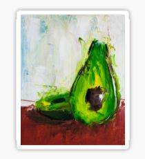 Just One Avocado Sticker