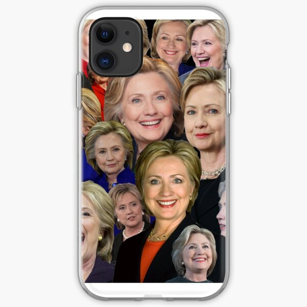Hillary Clinton Collage iPhone Soft Case