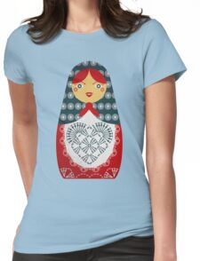 Crochet Doll Womens Fitted T-Shirt