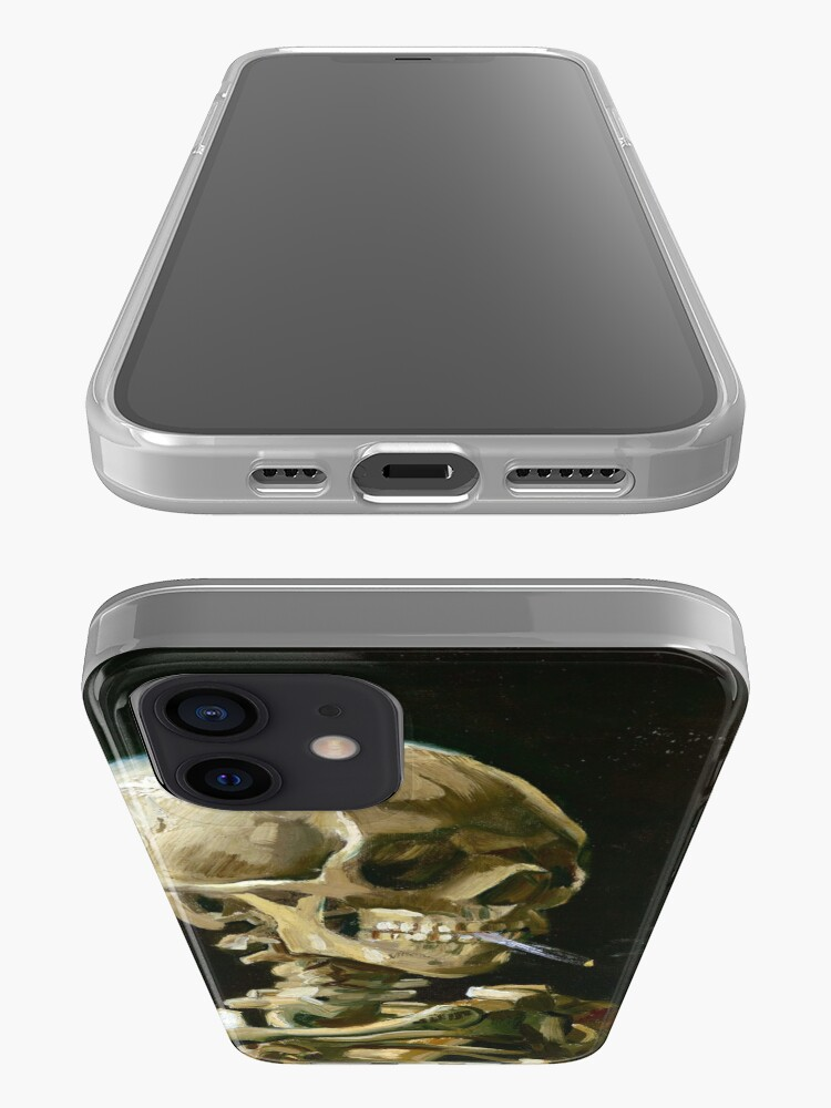 Alternate view of Vincent van Gogh Head of a Skeleton with a Burning Cigarette iPhone Case & Cover
