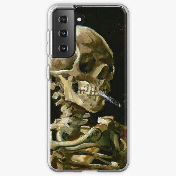 Vincent van Gogh Head of a Skeleton with a Burning Cigarette Samsung Galaxy Soft Case
