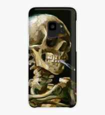 Vincent van Gogh Head of a Skeleton with a Burning Cigarette Case/Skin for Samsung Galaxy