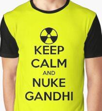 nuclear Gandhi! Graphic T-Shirt