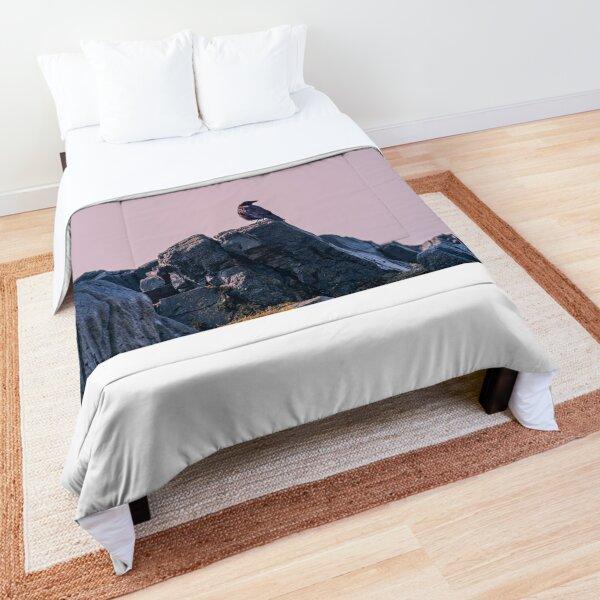 coastal crow Comforter