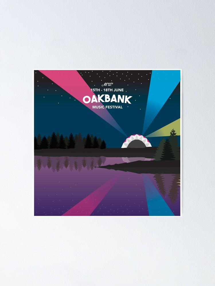 Alternate view of Oakbank Music Festival Poster
