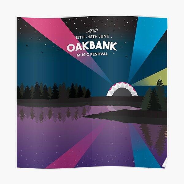 Oakbank Music Festival Poster
