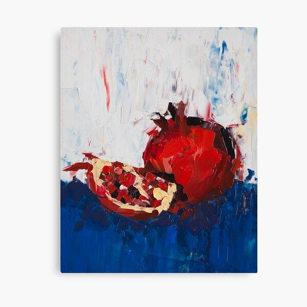 The Dark Pomegranate Canvas Print