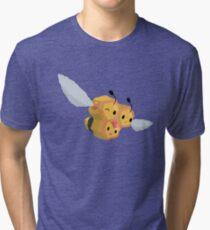 James' Combee [No Outline]  Tri-blend T-Shirt