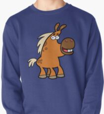 Cartoon Palomino Stud by Cheerful Madness!! Pullover