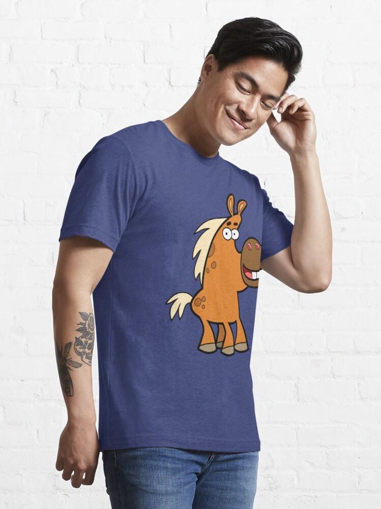 Alternate view of Cartoon Palomino Stud by Cheerful Madness!! Essential T-Shirt