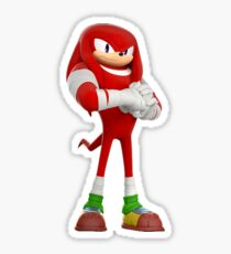 Knuckles - Sonic Boom Sticker