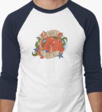 Octopus - HUG LIFE Men's Baseball ¾ T-Shirt