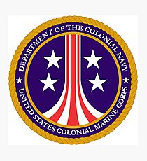Colonial Marines emblem (full size) Photographic Print