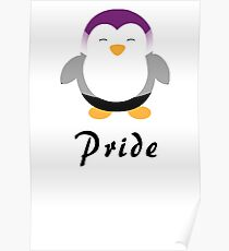 Ace Pride-guin Poster