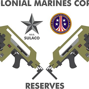 Colonial Marines Corps Reserves by PCB1981