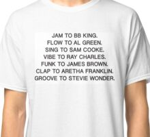Best of the Best Soul/Funk Classic T-Shirt