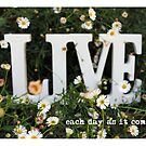 each day as it comes - LIVE by Jo Williams