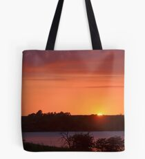 The Final Ember of Day Tote Bag