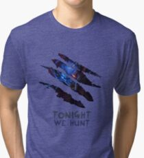 Tonight we hunt Rengar Tri-blend T-Shirt