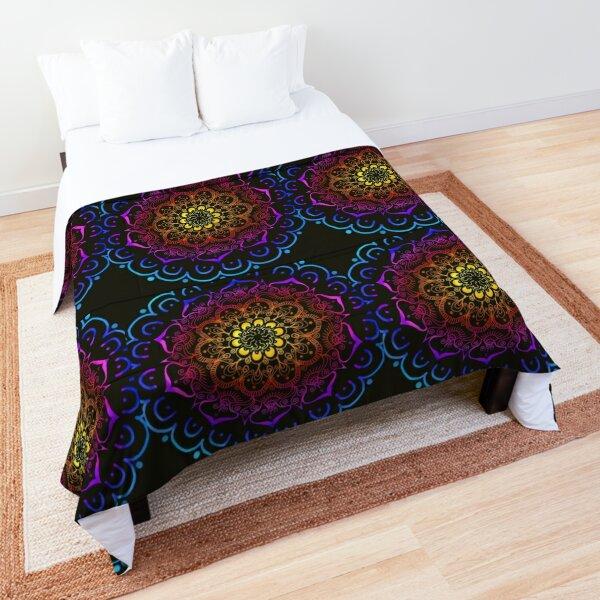 MEDITATIVE MANDALA Comforter