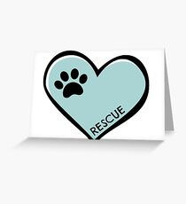 Rescue Greeting Card