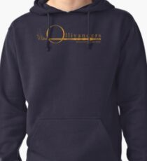 Ollivanders Logo in Yellow Pullover Hoodie