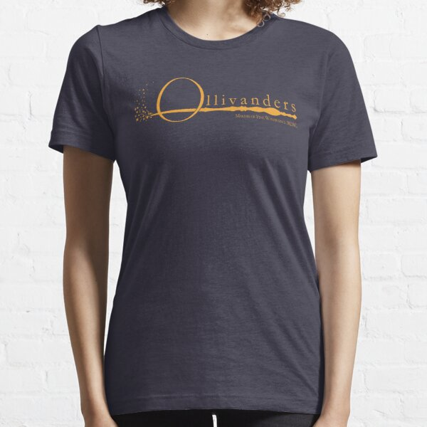 Ollivanders Logo in Yellow Essential T-Shirt