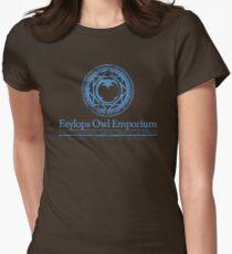 Eeylops Owl Emporium in Blue T-Shirt