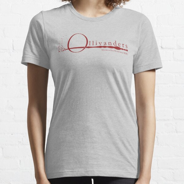 Ollivanders Logo in Red Essential T-Shirt