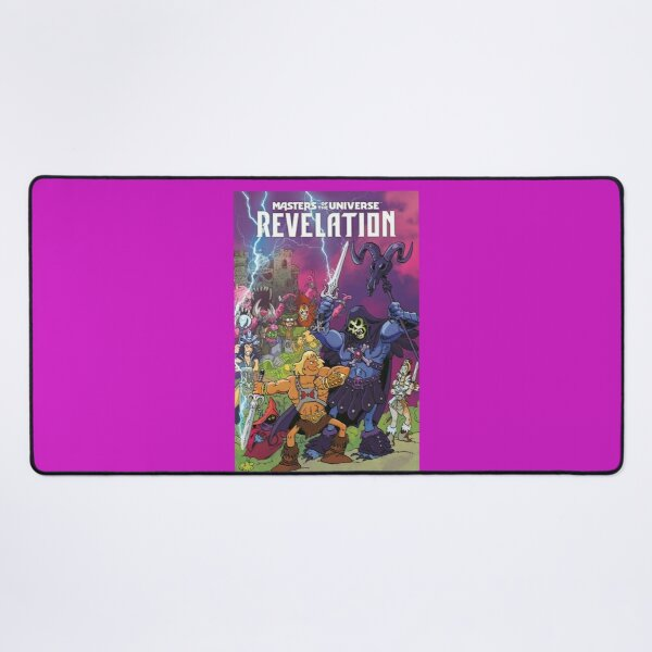 Copy of masters of the universe relation poster Desk Mat