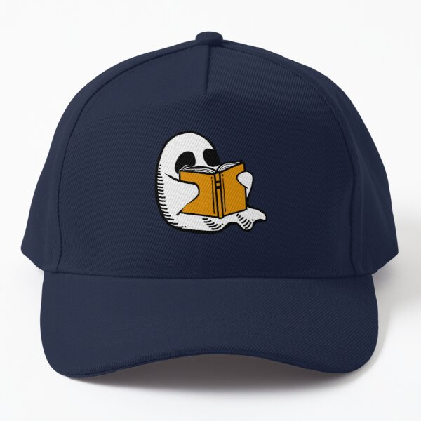 Booooks! Halloween Ghost Baseball Cap