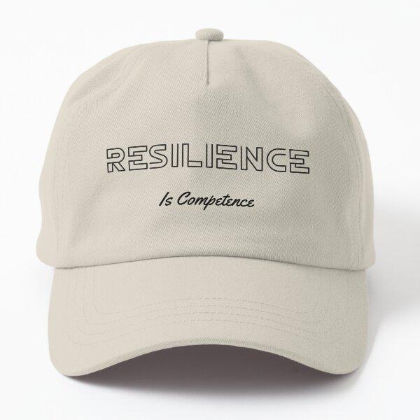 Resilienz ist Kompetenz Dark Dad Hat