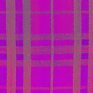 Pink Tartan by MagsArt