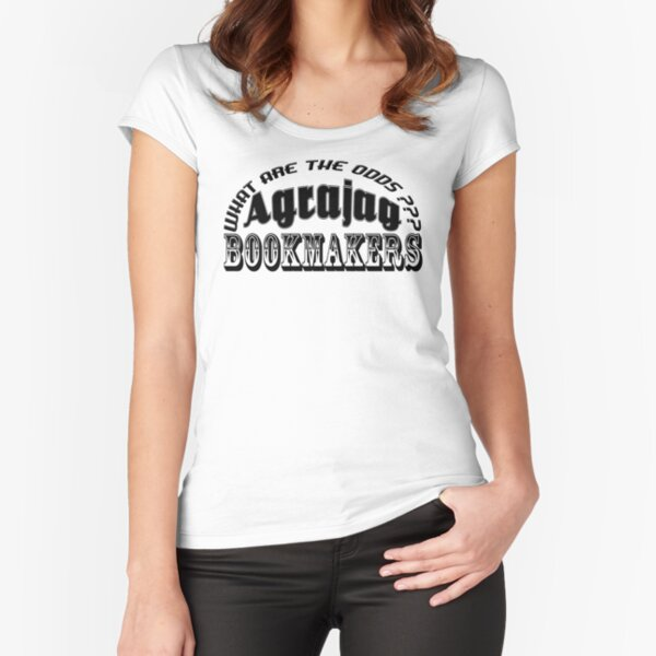 Agrajag Betting Services Fitted Scoop T-Shirt