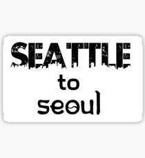 Seattle to Seoul Sticker