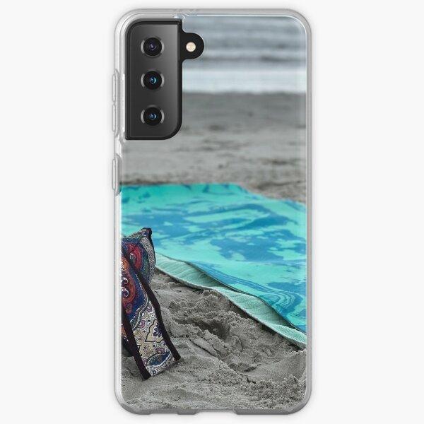 Morning Yoga on Beach Samsung Galaxy Soft Case