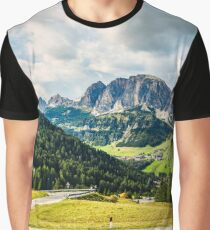 unterwegs in den Dolomiten Graphic T-Shirt