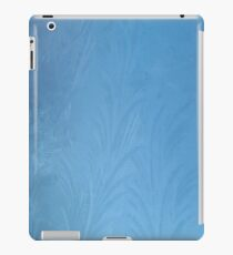 Frost on car windscreen iPad Case/Skin